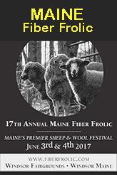 Maine Fiber Frolic 2017 Poster