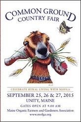 MOFGA Common Ground Fair Poster
