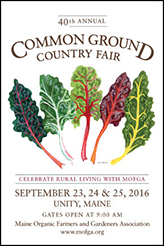 MOFGA Common Ground Fair Poster
